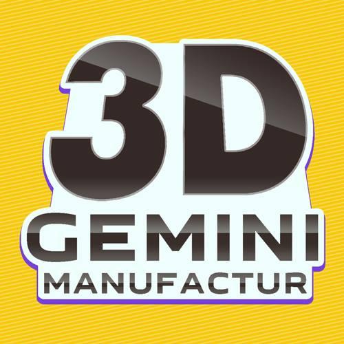 3D-Gemini Manufactur Logo